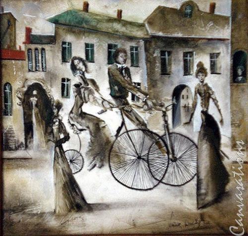 Biking in the Night